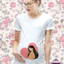لباس بارداری طرح مامزی