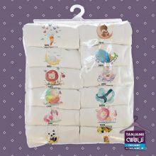 لباس ماهگرد نوزاد طرح حیوانات ۵