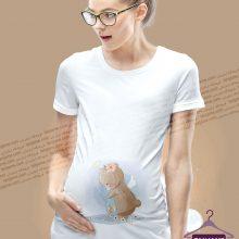 لباس بارداری طرح خرس فرشته