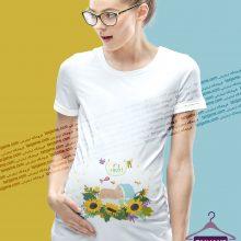 لباس بارداری طرح پسر